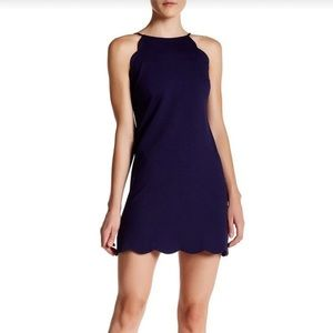 Navy Cocktail Dress